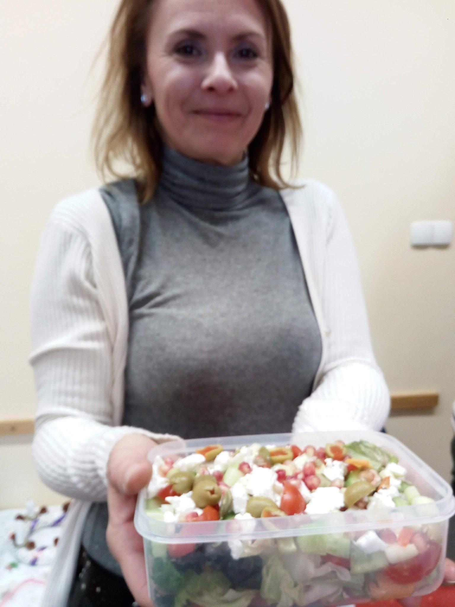 Andi salátája és kókuszgolyója - Mohamama konyhája